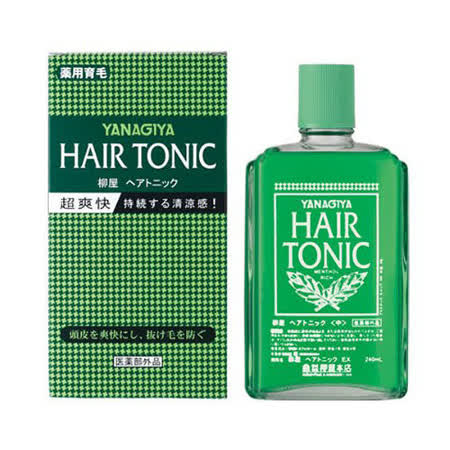 日本Yanagiya Hair Tonic養髮液240ml