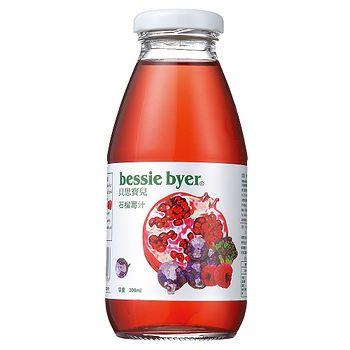 貝思寶兒 石榴莓汁300ml