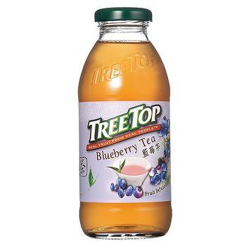 樹頂 藍莓茶360ml