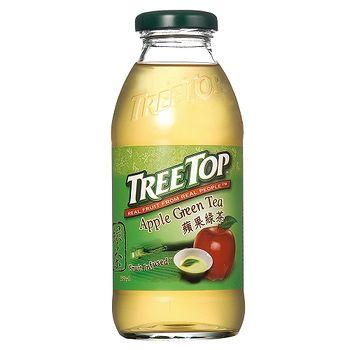 樹頂 蘋果綠茶360ml