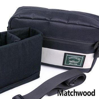 MATCHWOOD Cube可拆式相機包 側背包/3M反光條 -黑色