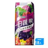 波蜜一日蔬果100%紫色蔬果汁PR330*18