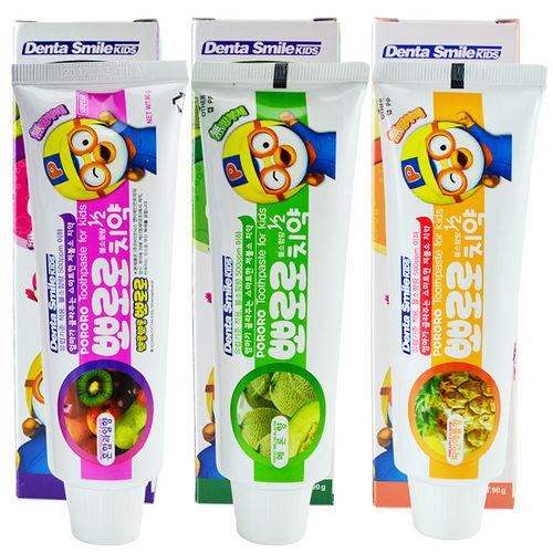 PORORO 韓國 淘氣小企鵝 照護牙周兒童牙膏 90g 三款可選