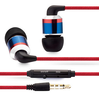 E-books 線控接聽鋁製入耳式耳機S26