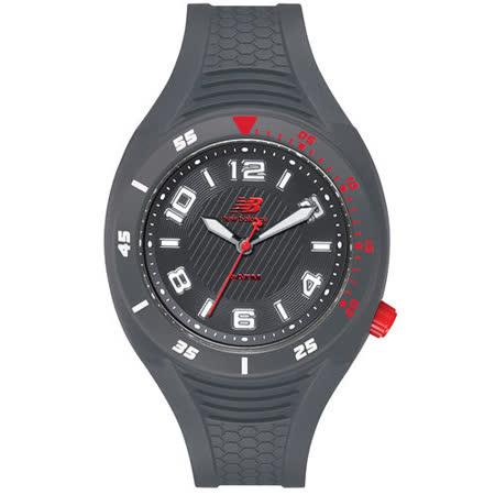 New Balance 501系列 個性數字秒針造型錶-灰/45mm