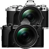 OLYMPUS OM-D E-M5 Mark II + 12-40mm (公司貨)-加送64G 48mb記憶卡+原廠電池+快門線+保護鏡+大吹球清潔組+專用拭鏡筆+單眼專用皮質手腕帶