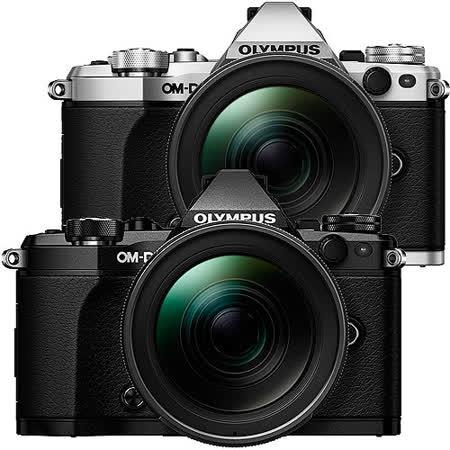 OLYMPUS OM-D E-M5 Mark II + 12-40mm (公司貨)-加送64G 48mb記憶卡+原廠電池+快門線+保護鏡+大吹球清潔組+專用拭鏡筆+原廠相機包+單眼專用皮質手腕帶