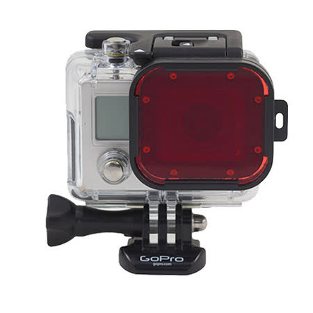 GoPro 專用紅色潛水濾鏡 for 60米潛水殼 Polar Pro-P1009