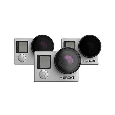 GoPro 專用 三片組 一偏光鏡、兩減光鏡 Polar Pro -P3001