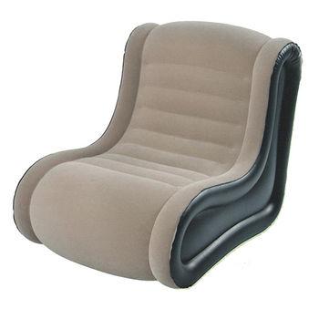 高級L型植絨充氣沙發(107*80*86cm)