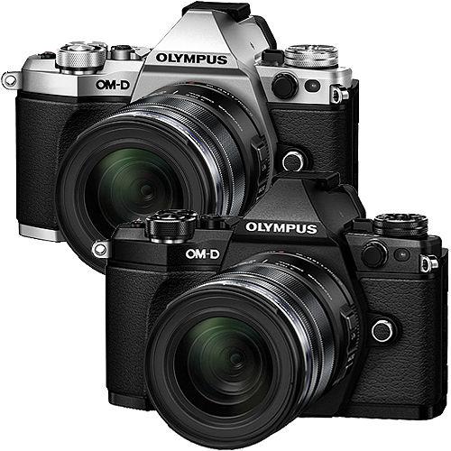 OLYMPUS OM-D E-M5 Mark II + 12-50mm (公司貨)-加送64G 48mb記憶卡+原廠電池+快門線+保護鏡+大吹球清潔組+專用拭鏡筆+單眼專用皮質手腕帶