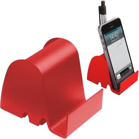 《REFLECTS》大象置物手機座(紅)
