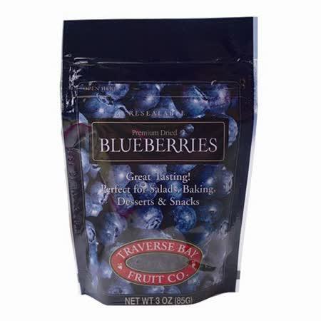 特拉佛斯天然整顆藍莓乾85g x8包