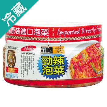 正安勁辣泡菜400G/罐