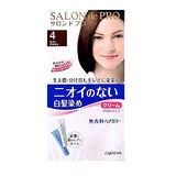 日本DARIYA沙龍級染髮劑 無味型白髮染【淺褐色】40g+40g