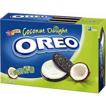 奧利奧-奶油椰香夾心餅乾 411g