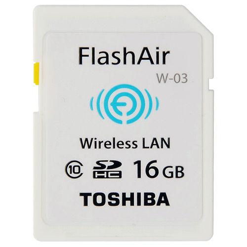 TOSHIBA 16GB FlashAir SDHC Class10 無線記憶卡~平行輸入