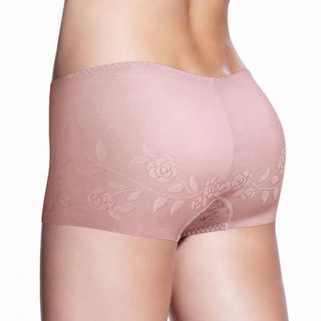 黛安芬-Stretty小褲 零著感系列平口褲 M-EL(紫嫣紅)