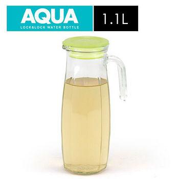 樂扣樂扣 玻璃冷水壺-橄欖綠色(1.1L)