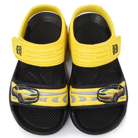 【好物推薦】gohappy線上購物童鞋城堡-變形金剛 中大童 輕量玩水涼鞋TF3263-黃開箱百貨