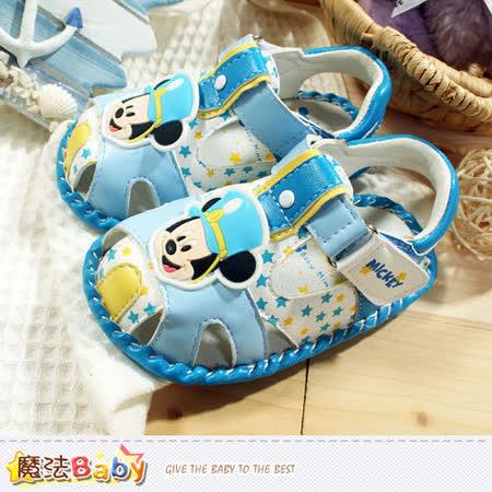 魔法Baby~專櫃款迪士尼米奇外出鞋 sh5748
