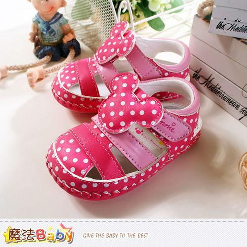 魔法Baby~專櫃款迪士尼米妮寶寶外出鞋 sh5823