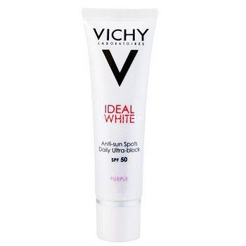 VICHY薇姿 淨膚透白防曬隔離乳SPF50 PA+++ 30ml (紫色)