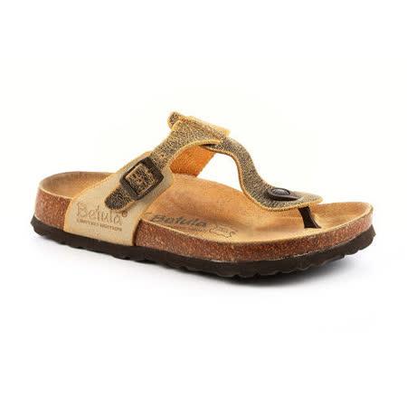 勃肯Betula 734721。RAP NL 夾腳拖鞋(酪黃)