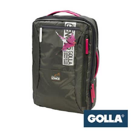 【Golla】 北歐芬蘭 Golla 16吋時尚後背包(自由軍綠) G1273
