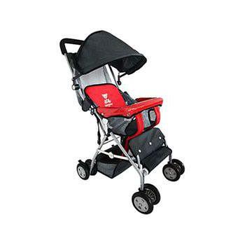 TONYBEAR 可揹式嬰兒三用背架推車- 紅色