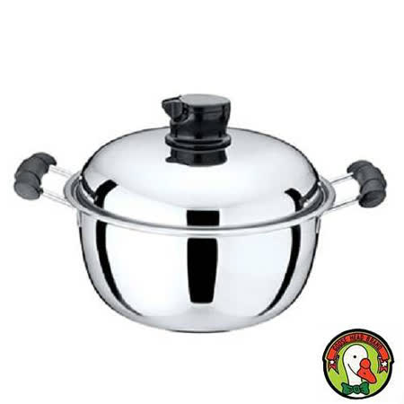 【鵝頭牌】多功能鍋蓋兩用蘋果鍋 CI-2604