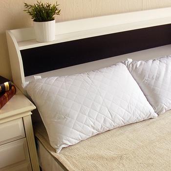 【YUDA】低枕《二入/組》100%純天然木棉枕(100%純棉枕套)枕心/枕頭/高級枕/飯店用枕 台灣製造