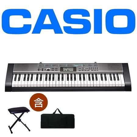 【CASIO 卡西歐】標準型61鍵電子琴入門首選公司貨保固含琴架、琴袋、琴椅 ( CTK-1300)