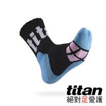 Titan側向運動襪[黑/藍/粉紅]