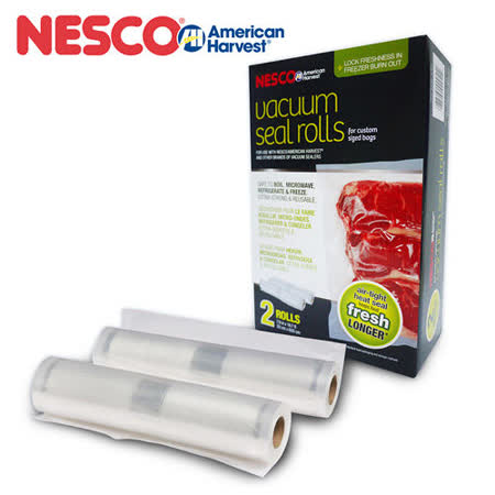 美國 Nesco American Harvest 真空包裝袋 捲裝4入 VS-03R