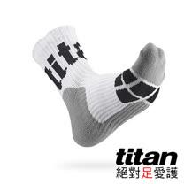 Titan側向運動襪[白/灰/黑]