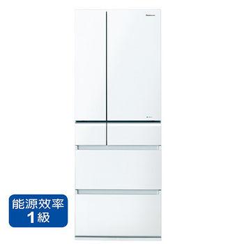 節能補助-國際555L六門變頻冰箱NR-F560VG-W1~A含配送到府+標準安裝
