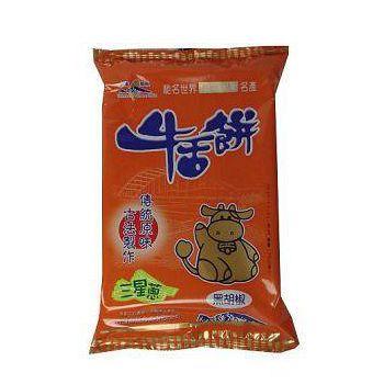 台灣鄉親 三星蔥黑胡椒牛舌餅 170G/包(任選館)