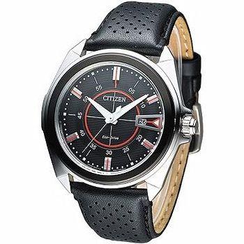 CITIZEN Eco-Drive 新潮世代光動能腕錶 -黑