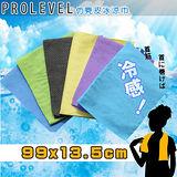 戶外露營 運動 台製仿麂皮超吸水 冰涼領巾(99X13.5cm)2入組-SGS認證