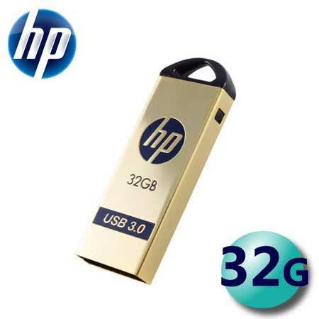 HP 惠普 32GB X725W USB3.0 鍍金外殼 隨身碟