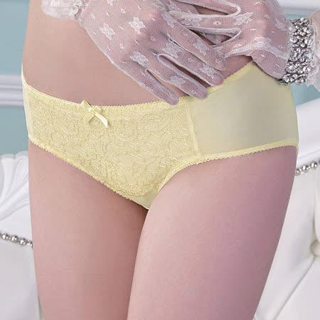 【Audrey】水漾峰情 中低腰平口褲(雅緻黃)