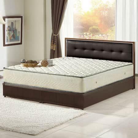 【AGNES 艾格妮絲】歐式加厚硬式獨立筒床墊(雙人加大)6x6.2尺