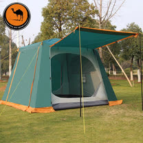 PUSH!戶外休閒登山用品 4~6人防水4000~5000MM四季內外帳設計大帳篷