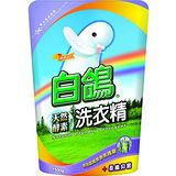 白鴿柔纖抑菌酵素洗衣精補充包1500g