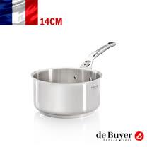 法國【de Buyer】畢耶鍋具[畢耶夫人系列] 單柄調理鍋14cm