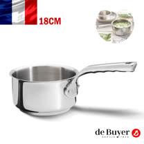 法國【de Buyer 】畢耶鍋具[畢耶夫人系列] 單柄調理鍋18cm