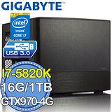 技嘉X99平台【流星連刃】Intel i7六核 GTX970-4G獨顯 1TB效能電腦