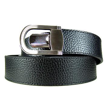 加長紳士皮帶18601-黑