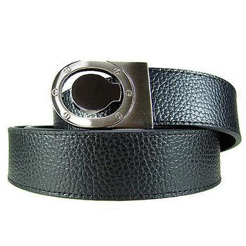加長紳士皮帶18603-黑